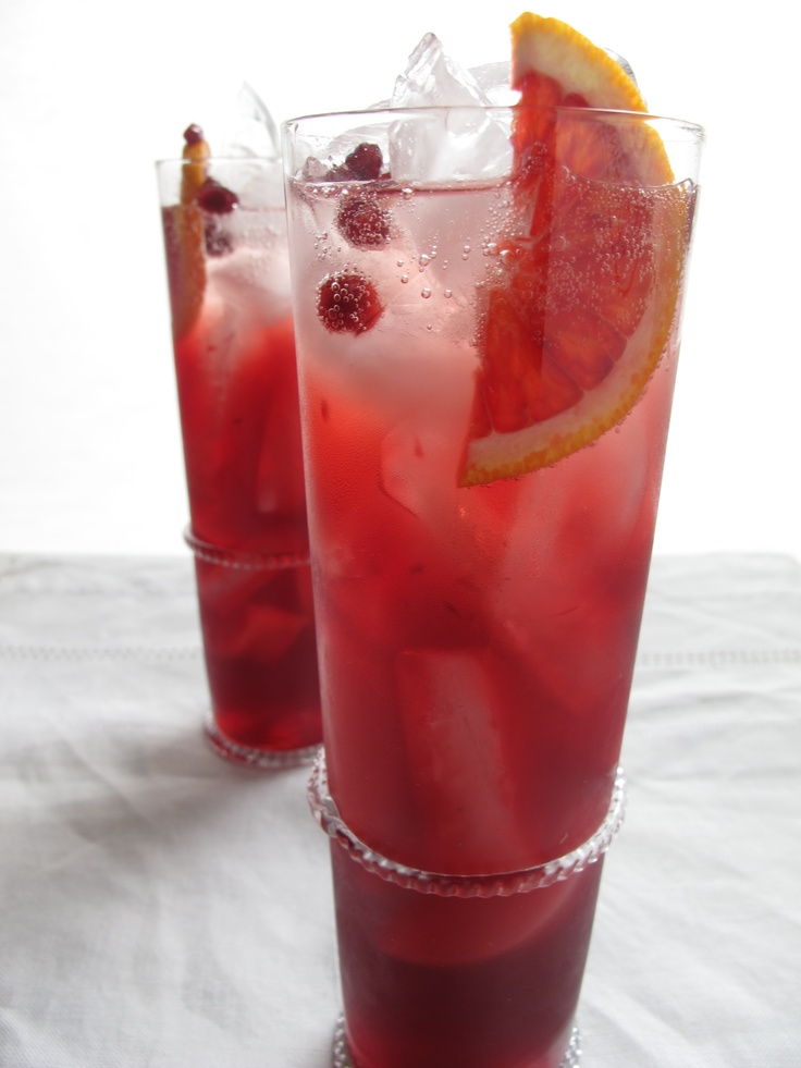 "Blood Orange Pomegranate Cocktail"" | Cocktails Anyone? | Pinterest"