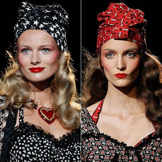 Элегантный платок на голову 2015 фото, красивый способ завяз…