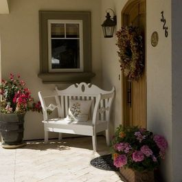 Small Front Porch Decorating Ideas | ... Small Front Porch +corner Design Ideas, Pictures, Remodel, and Decor