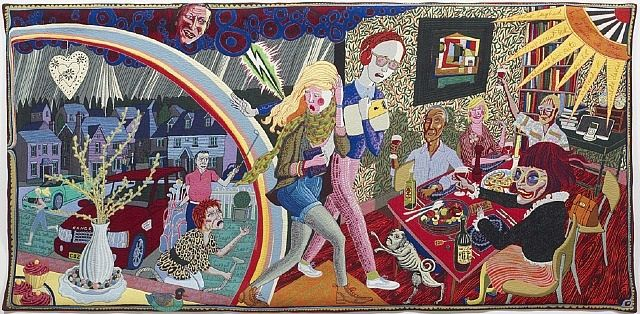 Expulsion from Number 8 Eden Close by Grayson Perry