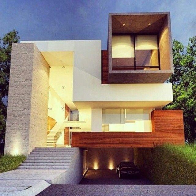 Casa la joya by creato arquitectos location guadalajara for Casa minimalista guadalajara