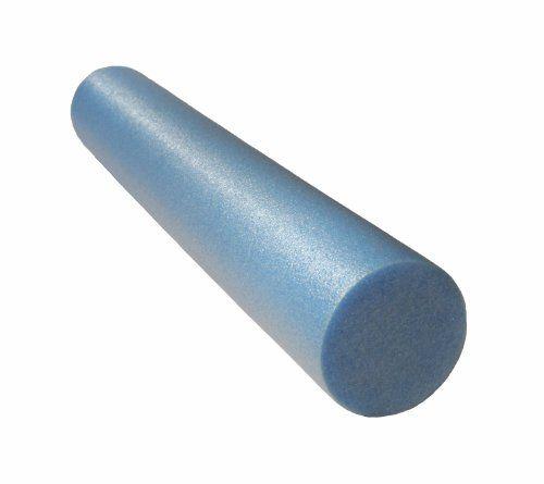 J/Fit Basic Foam Roller Light Blue 36-Inch x 6-Inch