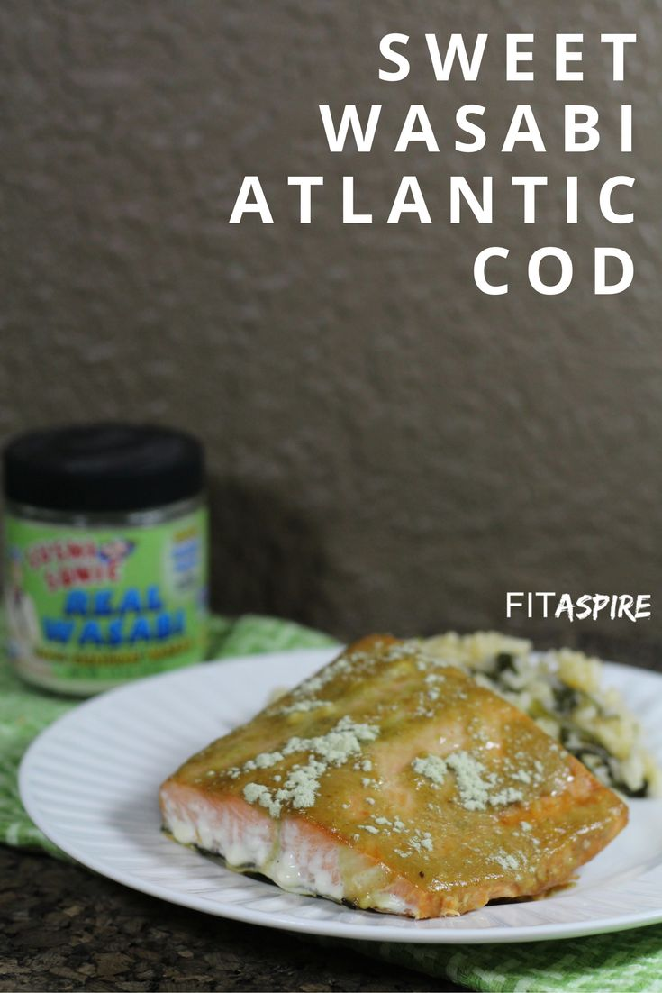 Sweet Wasabi Atlantic Cod