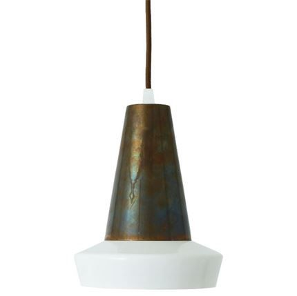 Show details for Malabo Powder Coated White Pendant