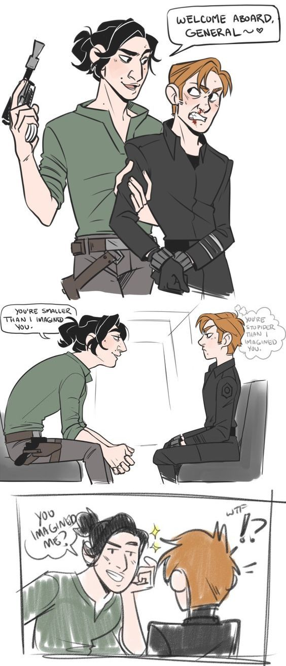 (Kylux) If Ben was with the resistance