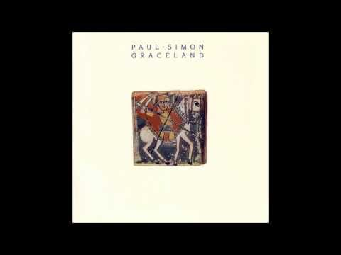 "Paul Simon: Graceland.    ""And she said losing love is like a window in your heart/  Everybody sees you're blown apart/  Everybody sees the wind blow."""