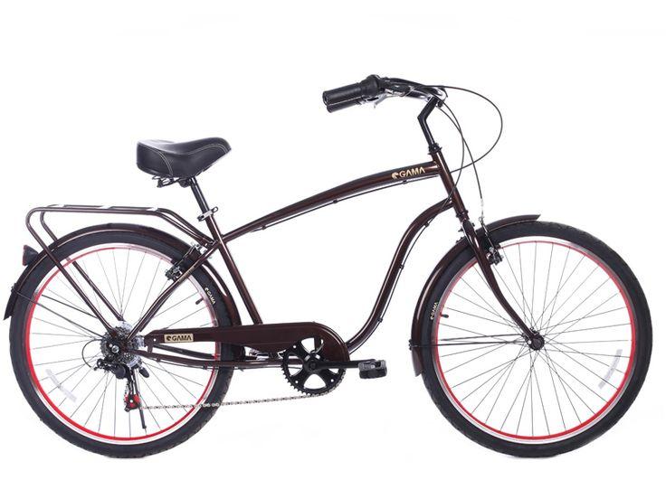 Cruiser/Café Rojo. ¿Listo para probarla? Ya está disponible en gamabikes.com #bici #gamabikes #NuevaTemporadaGama