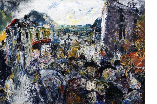 """Above the Fair"" by Jack B. Yeats"