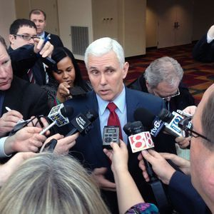 Gov. Mike Pence signs 'religious freedom' bill in private. Against the wishes of just about everyone else in Indiana, including the Republican mayor of Indianapolis.