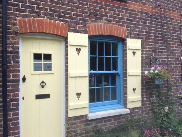 Windows Donu0027t Always Have To Be A Standard Colour. This Pastel Blue Sash