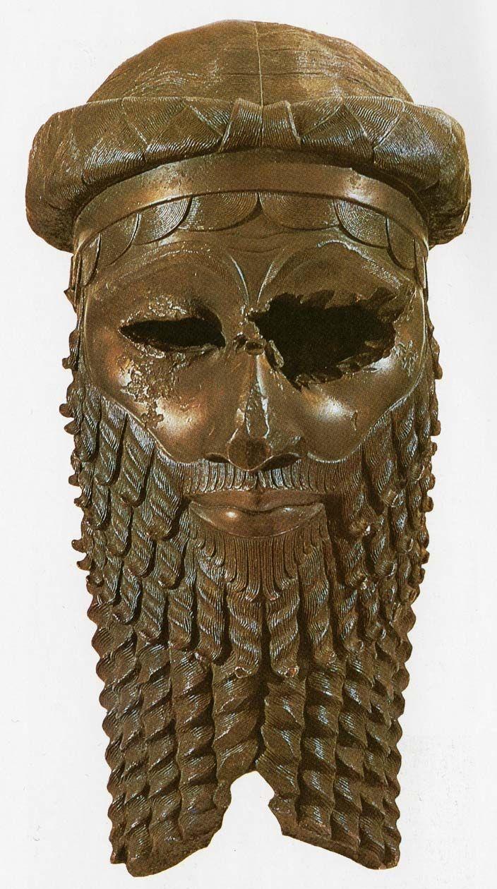akkadian mask Sargon bronze mask  naram-sin (2260 – 2223 bc) – was akkadian ruler and grandson of sargon the great he was the last great king of the akkadian country .