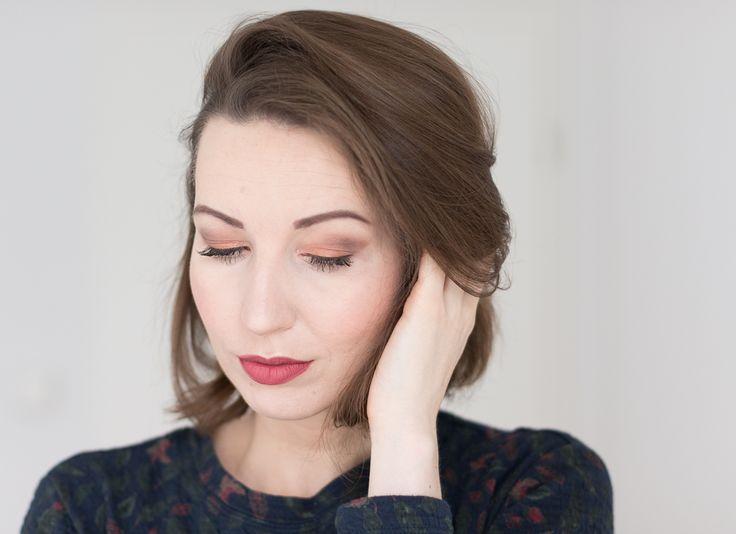 Fall makeup 2016 http://www.whatdoyoufancy.de/2016/10/herbstlook-2016.html #fall #makeup