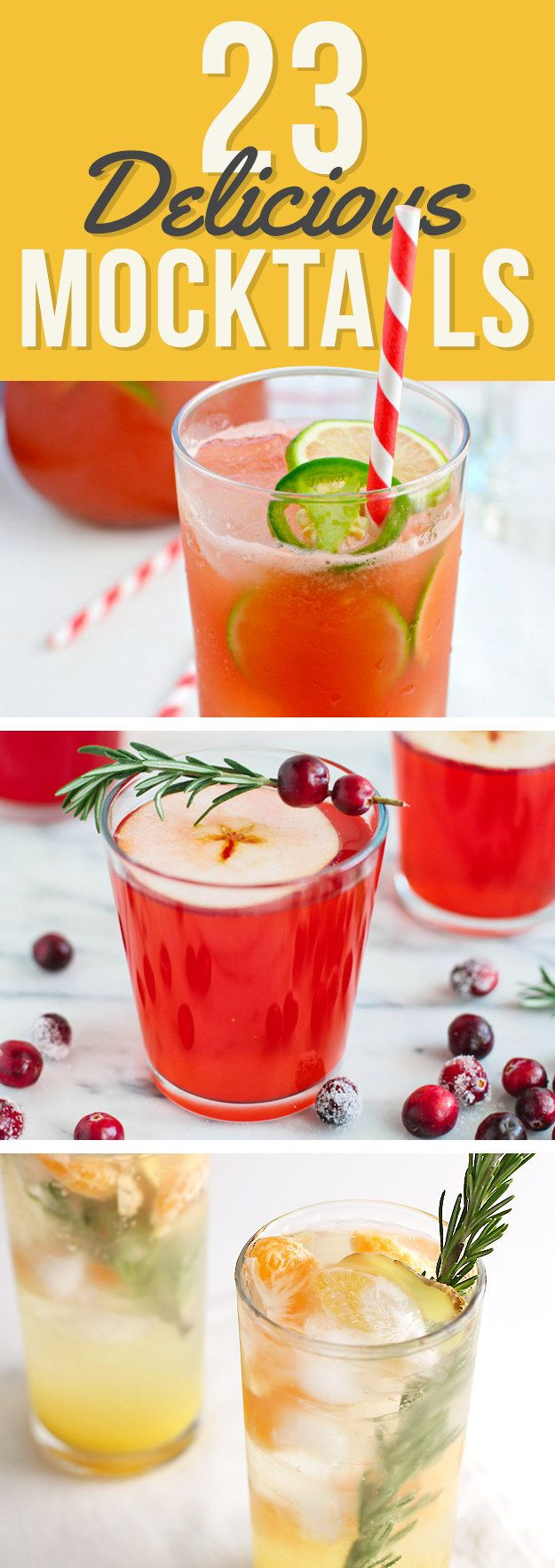 23 Delicious Non-Alcoholic Cocktails To Drink Instead Of Booze. For the non-drinkers at the wedding.....