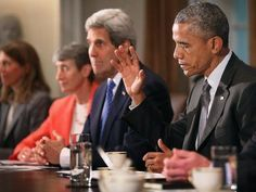 7 Devastating Facts About Obama's Iran Nuclear Deal. President Obama Holds A Cabinet Meeting At White House