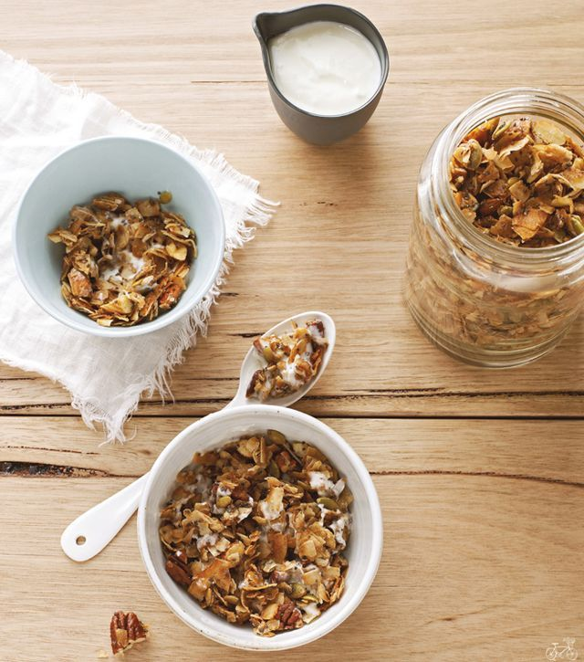 Coco-Nutty Granola from I Quit Sugar | The Nourished Kitchen | Bloglovin'
