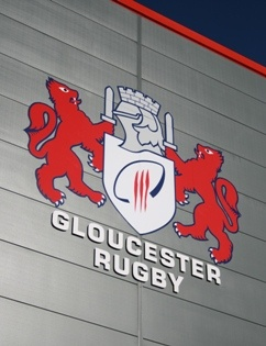 Gloucester Rugby Club - come on the Cherry & Whites
