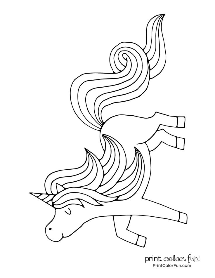 Top 100 magical unicorn coloring pages The ultimate (free