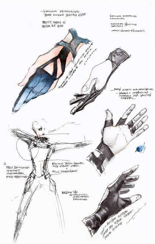 Custom Made Archery Glove by Kurt and Bart (Costume Designer) in The Hunger Games: Mockingjay Part 1