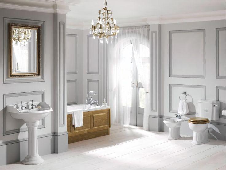 Här är 13 fantastiska badrum i viktoriansk stil för dig som gillar en flärdfullt elegant, lite rustik badrumsstil.