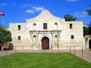"The official Alamo website tries to correct the persistent myth that everyone died at the Alamo. ""It is true that nearly all of the Texans under arms inside the fort were killed in the March 6, 1836, attack. However, nearly twenty women and children, who experienced the twelve days of siege leading to the final assault, were spared and allowed to return to their homes.""  Also spared were the slave of William Travis, named Joe and Susanna Dickinson. See official website for more.: Glasses Cases, Favorite Places, Texas, Monasteries, San Antonio, Food Blog, Alamo San, Dickert Rifles, The Alamo"