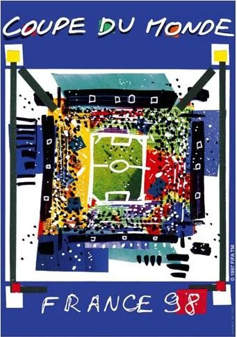 World Cup 1998 France Official Poster