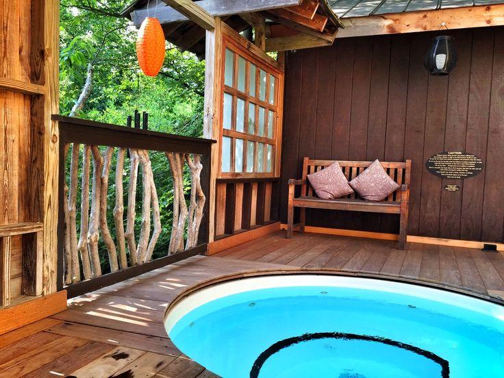 The Invigorating Cold Plunge Pool At Shoji Spa Lodge In Asheville