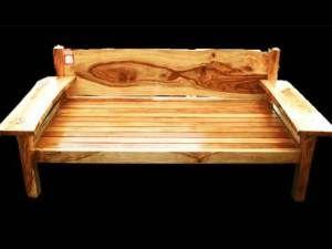 Indulgeñce Camphor Laurel Daybed. Illusive Wood Designs