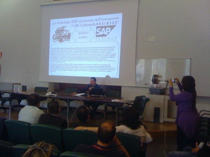 Luca Carbonelli: Caffè Carbonelli sceglie un ERP e non un semplice software gestionale.