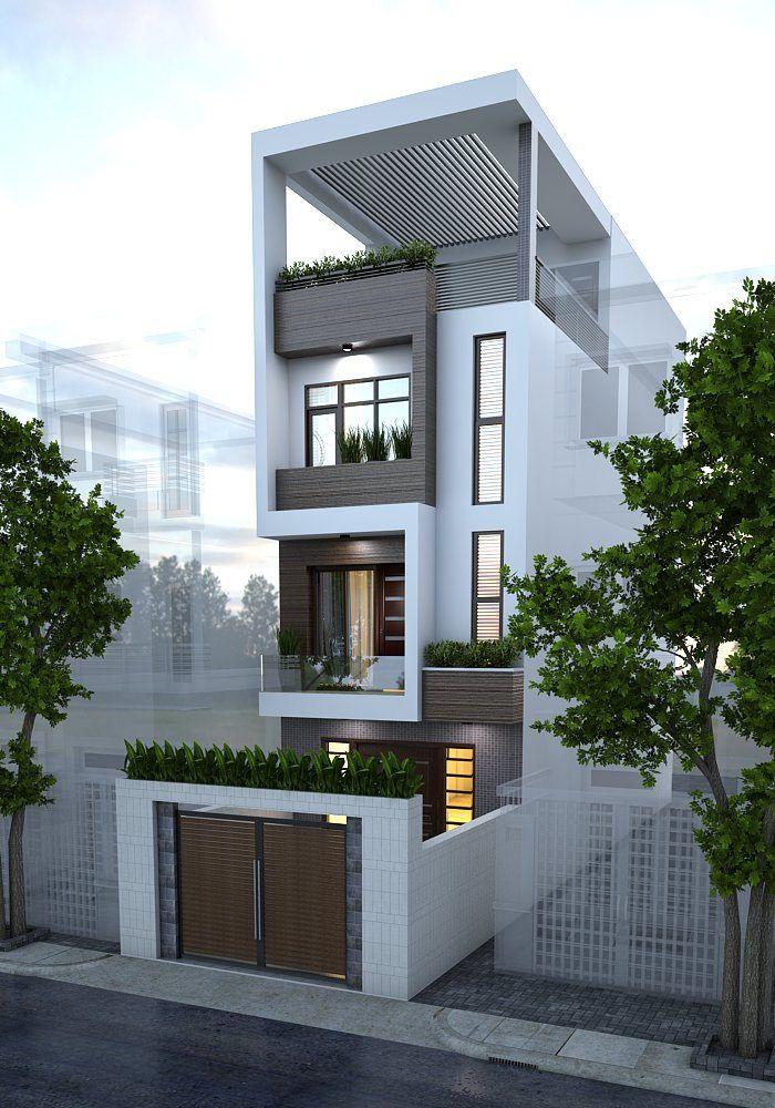 https://flic.kr/p/xa1vyE | Street 's house (Mr Hien) | Quang Ninh Date Design…