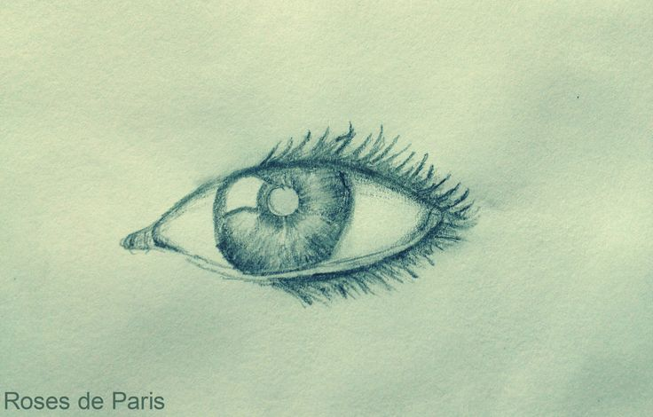 It was very difficult fro me to draw an eye - here's the result. Hope you like it!