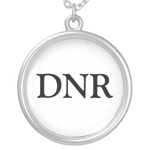 dnr necklace