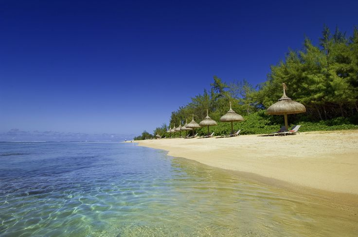 What a beautiful beach! @ SO Sofitel Mauritius Hotel #Mauritius