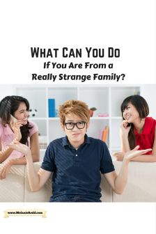 What Do You Do If You Are From a Really Strange Family? - Melanie Redd