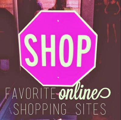 Favorite Online Shopping Sites.