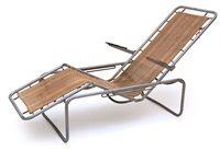 Faltbarer Liegestuhl, Modell 2064 von Alfred Altherr