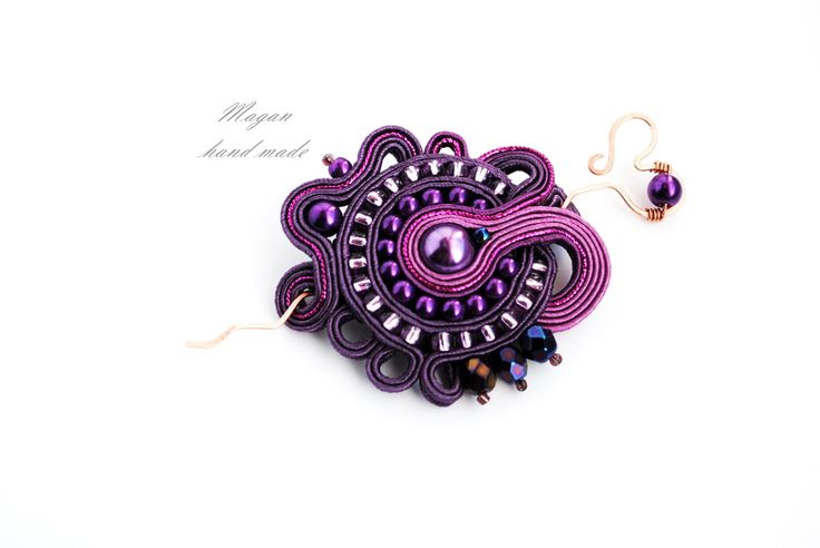 #sutasz #soutache #wire #jewerly #magan #maganhandmade #https://www.facebook.com/pages/Magan-hand-made/558162157567690