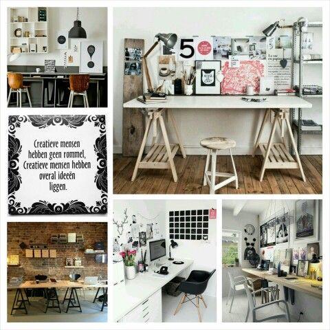 De gezelligste werkplek bij jou thuis! www.houseofsyl.nl