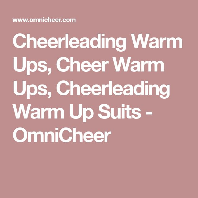Cheerleading Warm Ups, Cheer Warm Ups, Cheerleading Warm Up Suits - OmniCheer