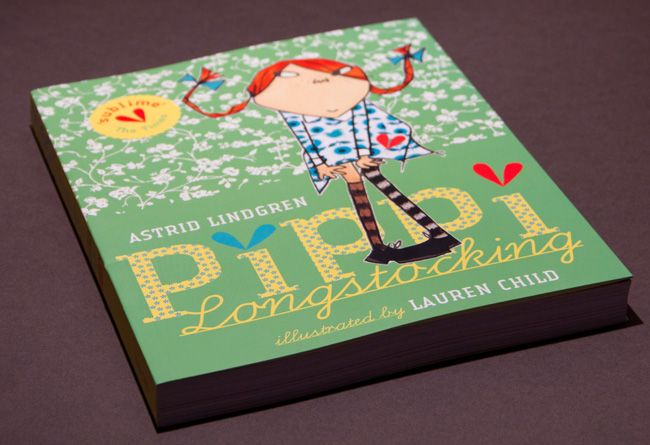 Pippi Långstrump/Pippi Longstocking - Astrid Lindgren, with illustrations by Lauren Child.