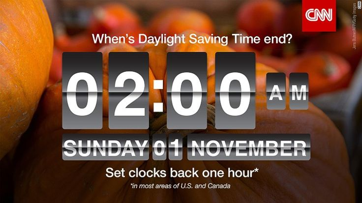 Here we go again! Nov. 1 at 2 AM Day Light Savings Time. Don't forget to set your clocks back an hour before going to bed. Wish we could do away with this event.