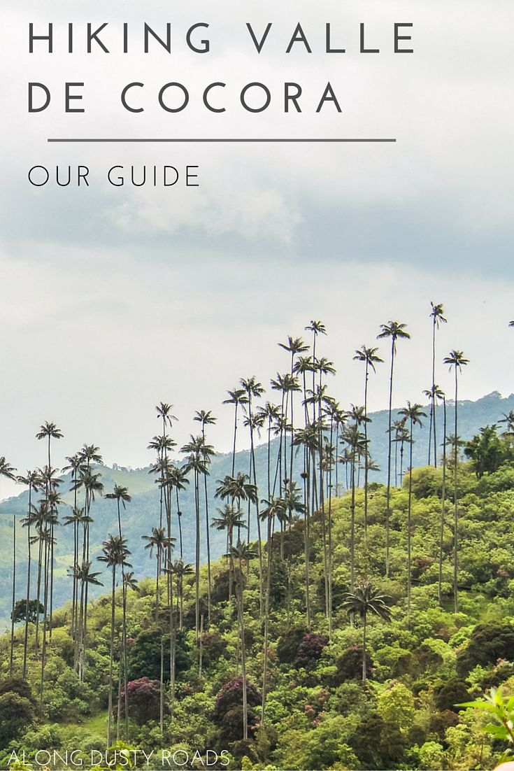 The Valle de Cocora should definitely be on your Colombia bucket list. Click on the pin to check out our guide on how to make the most of your hike…
