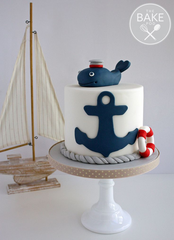 25+ best ideas about Nautical cake on Pinterest Sailor ...