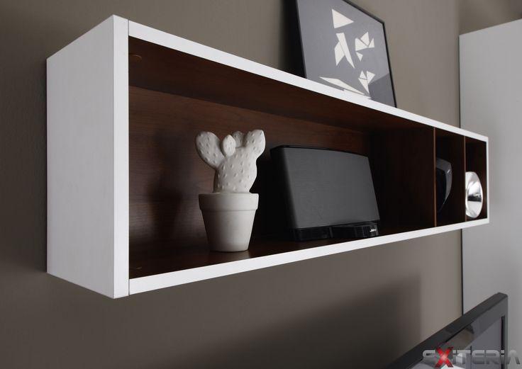 Závesná polica na stenu Cordelia  Cordelia furniture - shelf