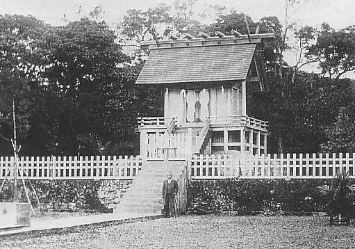 Okinawa Shrine in Pre-war Showa era (1926-1945)