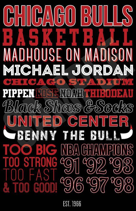 Chicago Bulls Art