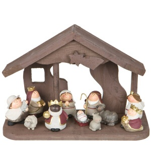 Cr che sia nativity pinterest for Sia decoration noel