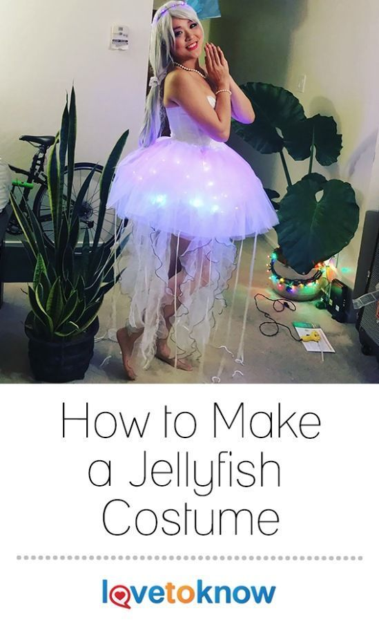 How to Make a Jellyfish Costume