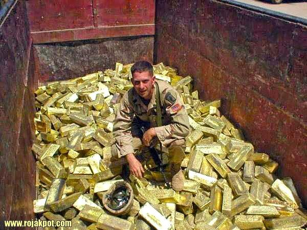 The United States Stole Iraqi Gold & Oil?