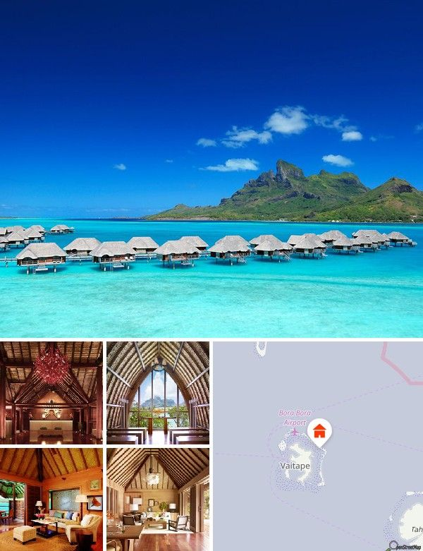 Four Seasons Bora Bora (Bora Bora, Francouzská Polynésie)