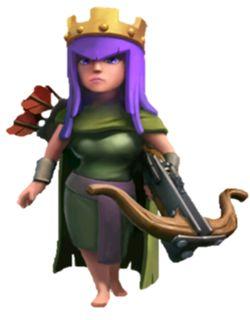 clash of clans archer queen